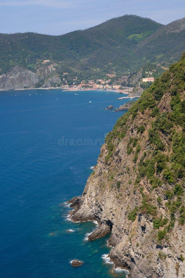 Jument d'Al de Monterosso, Ligurie, Italie photographie stock