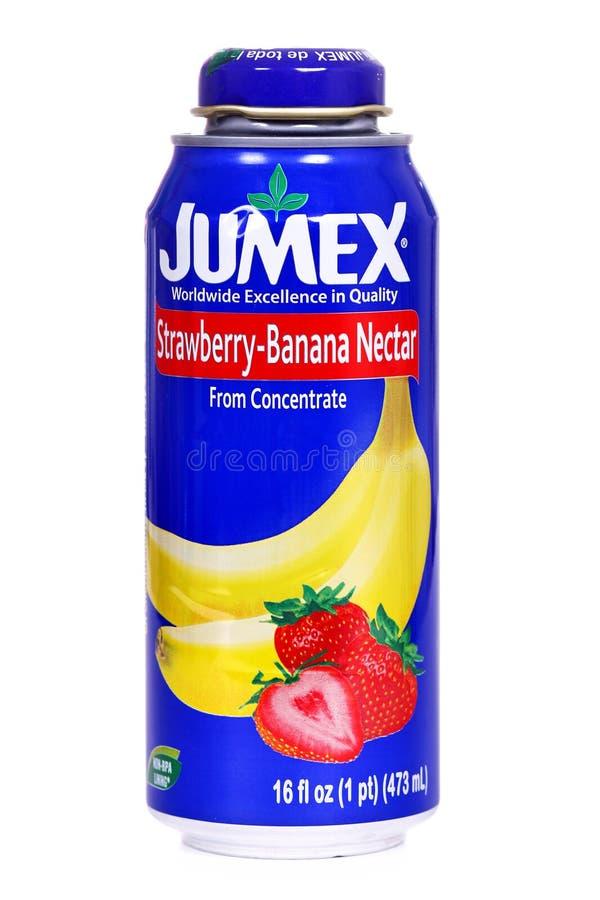 Jumex banana nektar zdjęcia stock