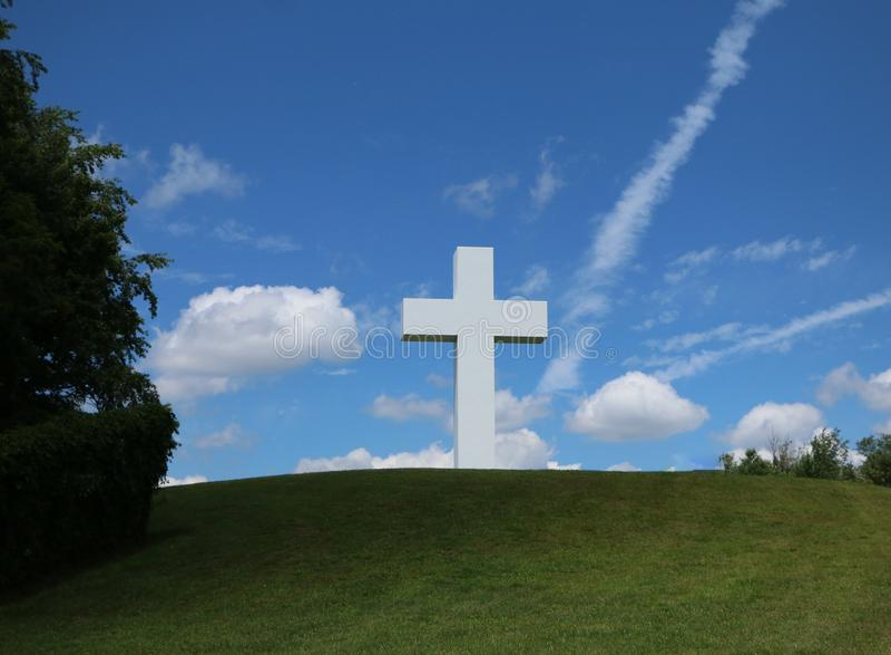 Jumonville-Kreuz stockbild