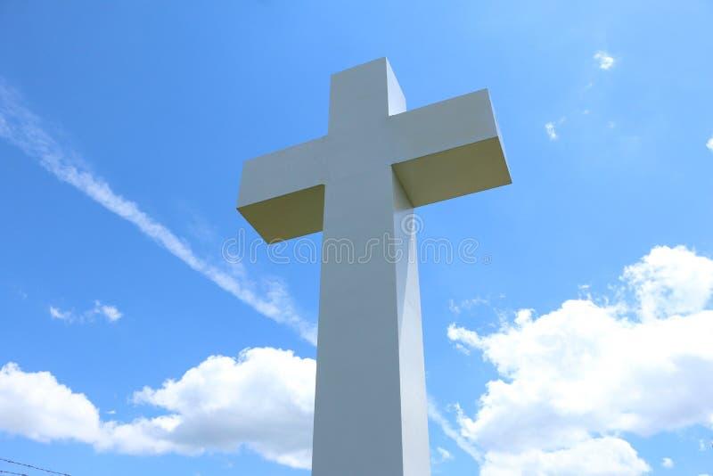 Jumonville-Kreuz stockfotografie