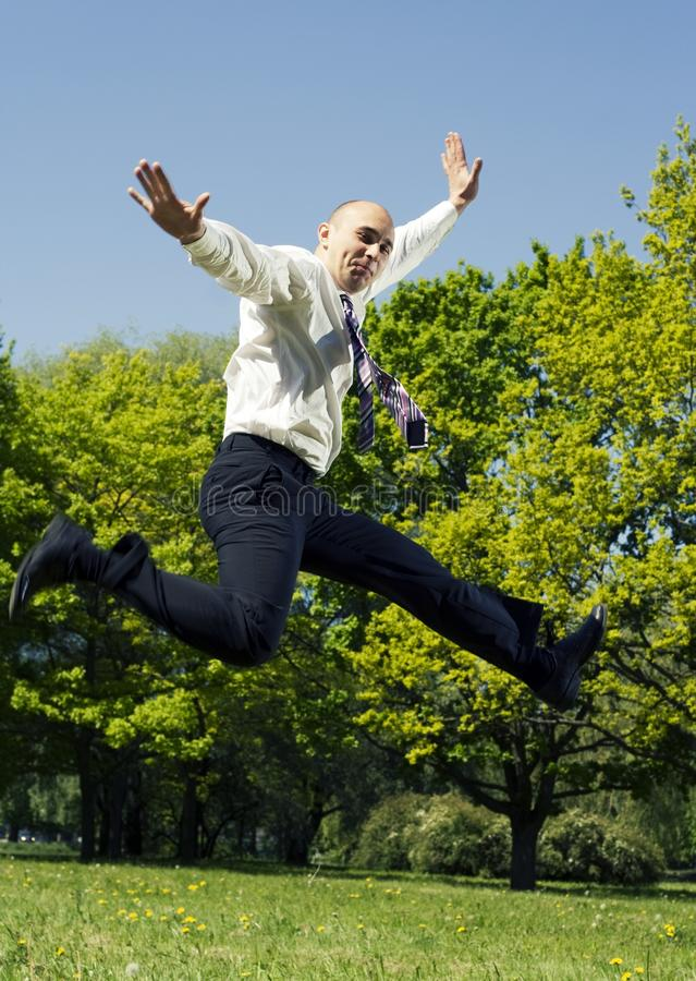 Jump. royalty free stock photos