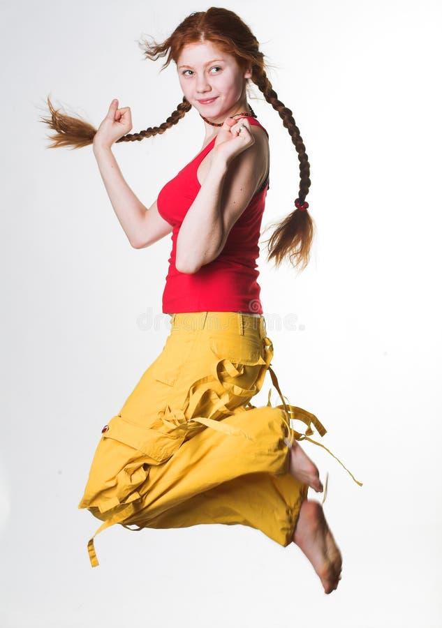 Download Jump! stock image. Image of girl, joyful, healthy, fresh - 6269965