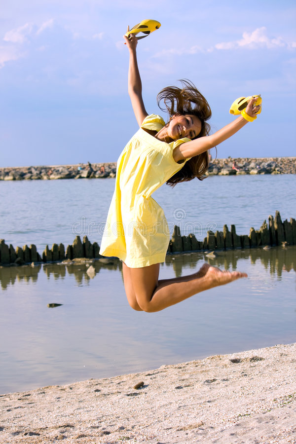 Free Jump Royalty Free Stock Images - 9100169