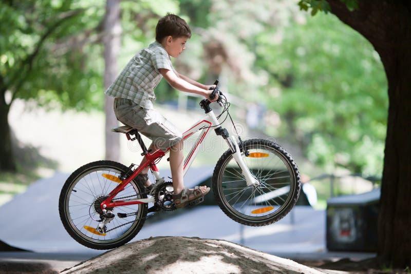 Download Jump On Bike Royalty Free Stock Image - Image: 25304886