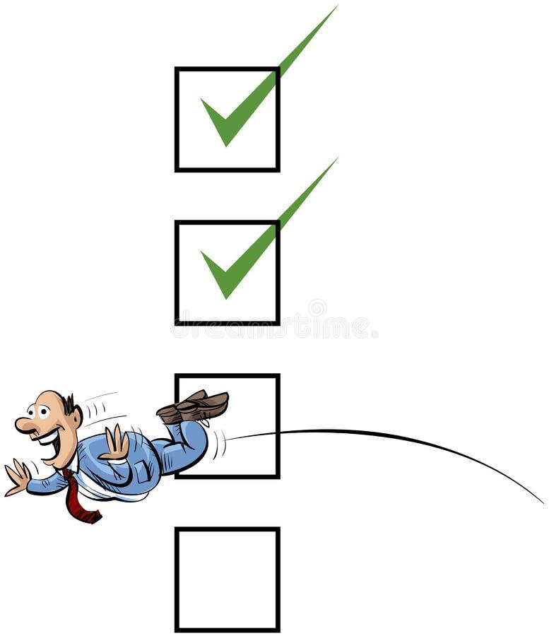 Download Jump Through Checks Stock Photo - Image: 22500340