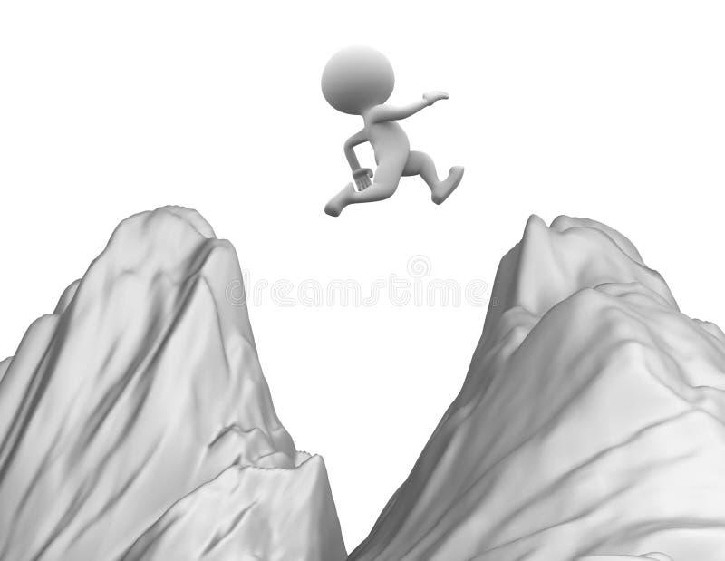 Download Jump stock illustration. Illustration of step, hope, people - 33273780