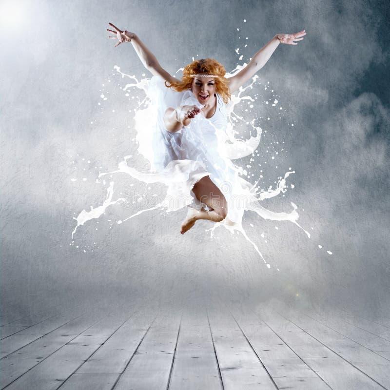 Download Jump of dancer stock image. Image of performance, elegance - 19424753