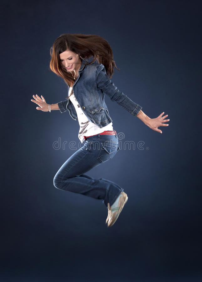 Download Jump dancer stock image. Image of jump, exercise, athlete - 23266429