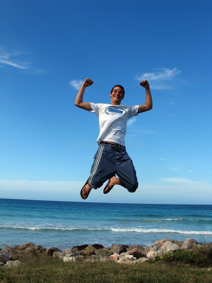 Jump For Joy Stock Image