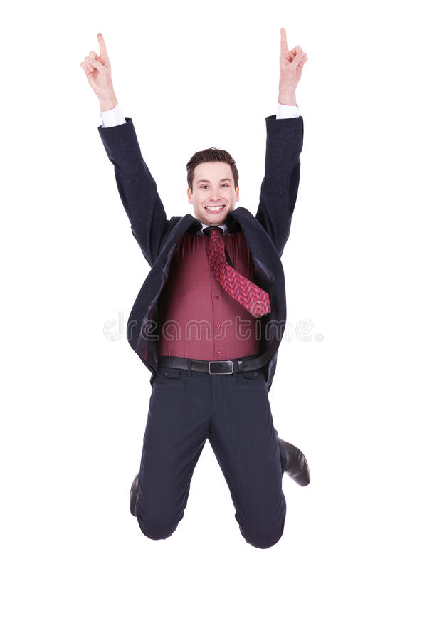 Download Jump of joy! stock photo. Image of executive, power, happy - 22732526