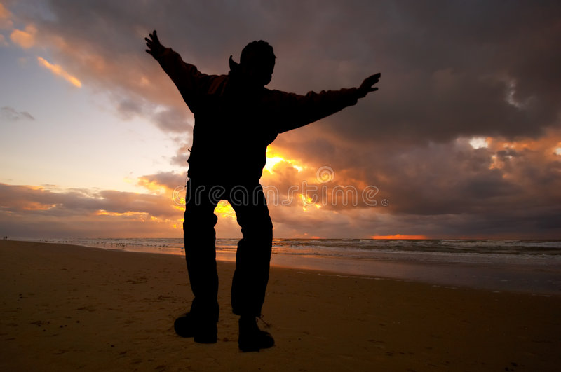 Download Jump for joy stock photo. Image of beautiful, sunny, picturesque - 802820