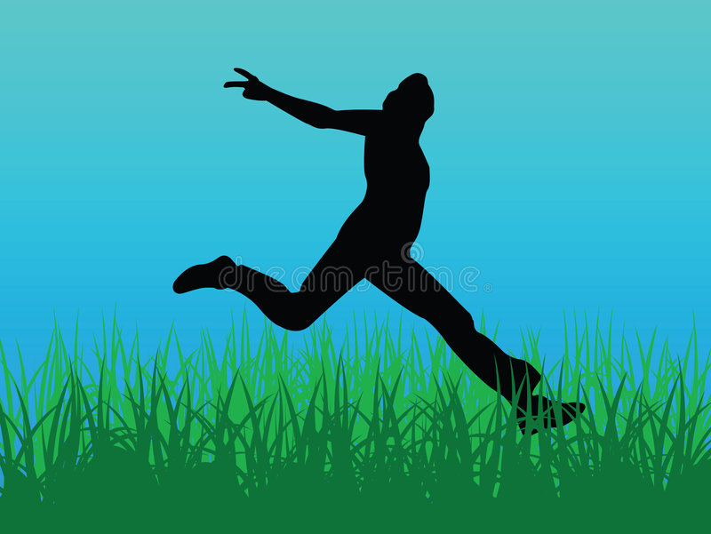 Download Jump for joy vector stock vector. Illustration of jumping - 2244065