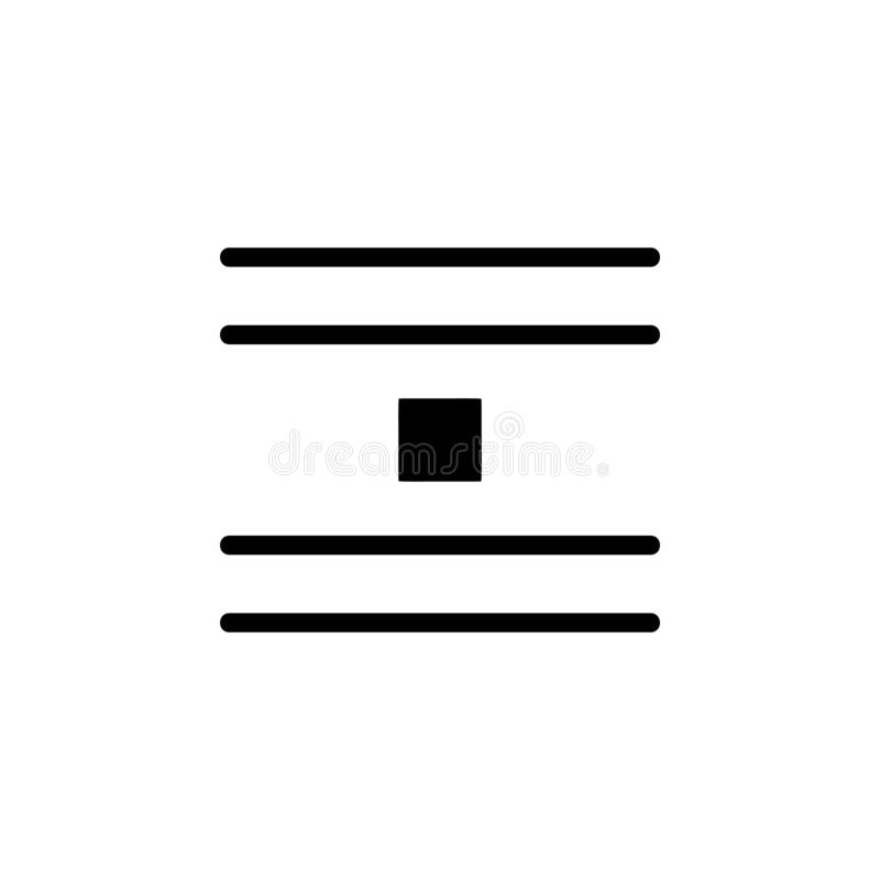 jump object, text icon. Simple glyph vector of text editor set icons for UI and UX, website or mobile application stock illustration