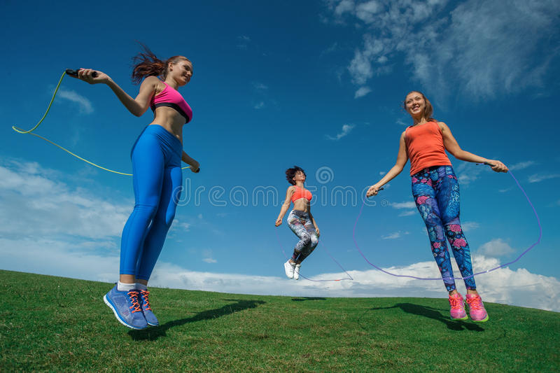 Jump rope stock image