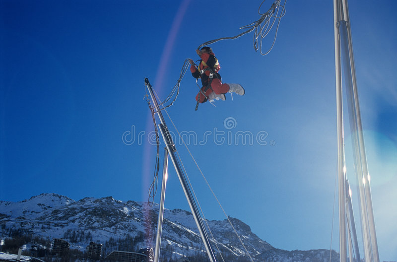 Download Jump to the sky stock photo. Image of jumps, active, play - 87784