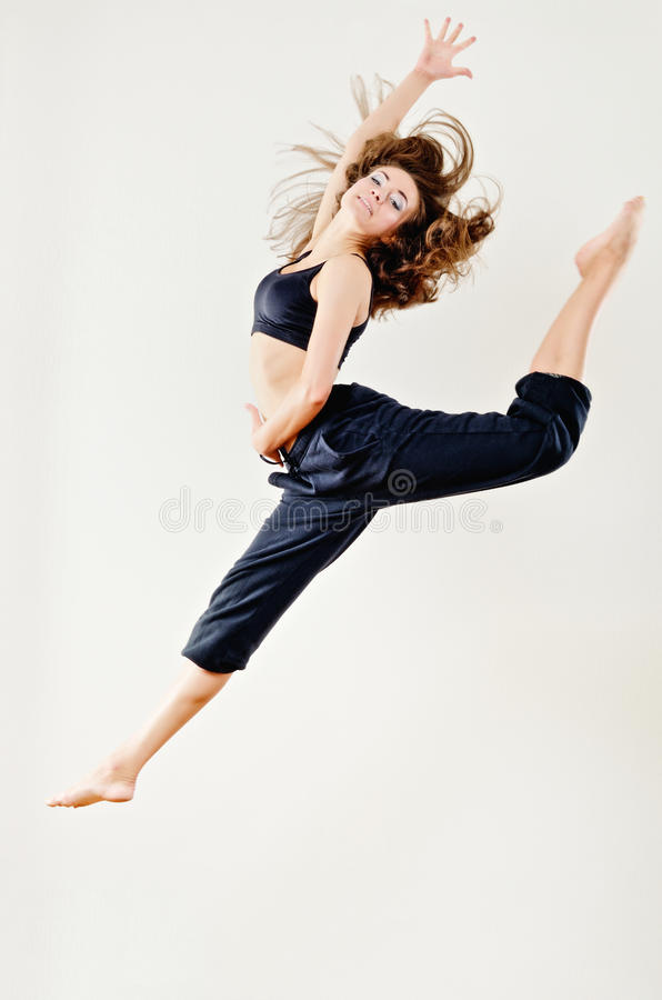 Jump Up royalty free stock image