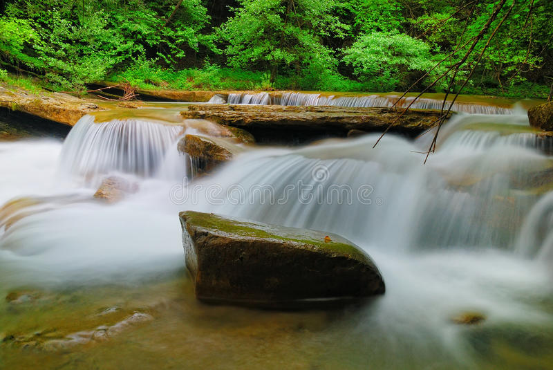 Download Jump Of Water Of The Stream Stock Image - Image: 38125979