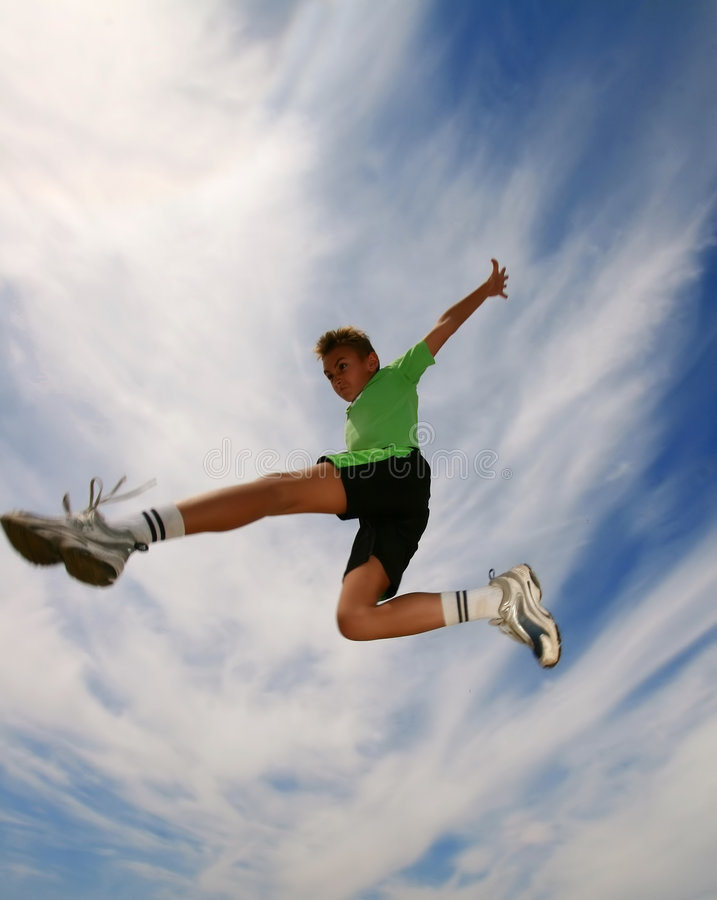 jump6 στοκ εικόνα