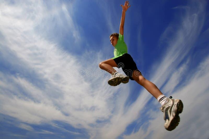 Jump9 stockfoto