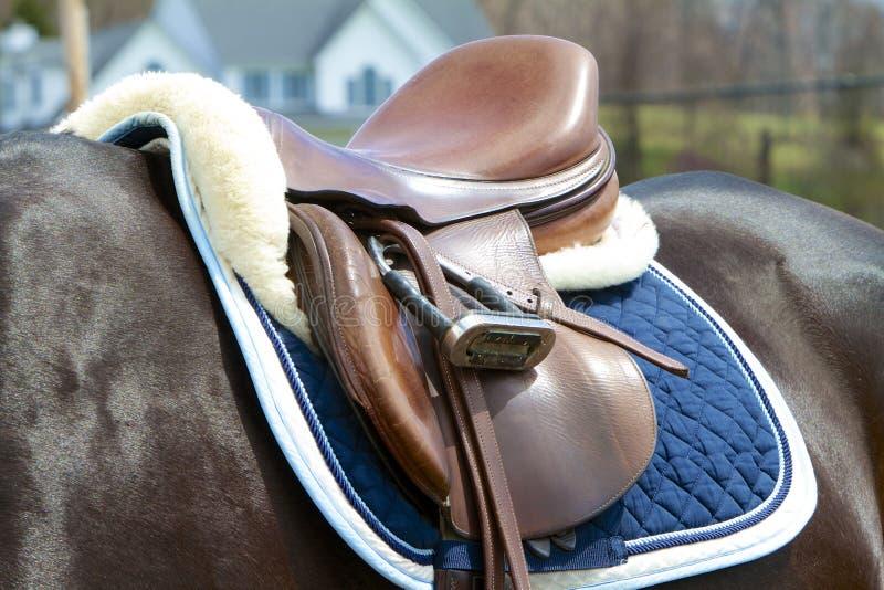 Jumper Saddle stock photos