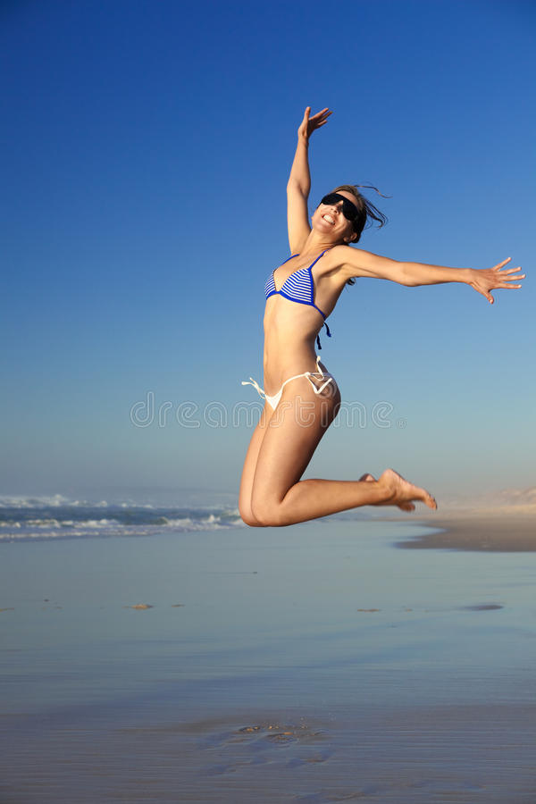 Download Jumping stock image. Image of freedom, beauty, free, active - 13854019