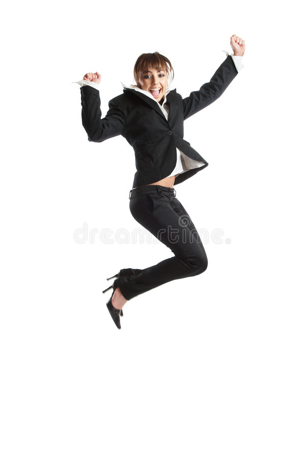 Download Jumping stock photo. Image of caucasian, formal, jumping - 2141726