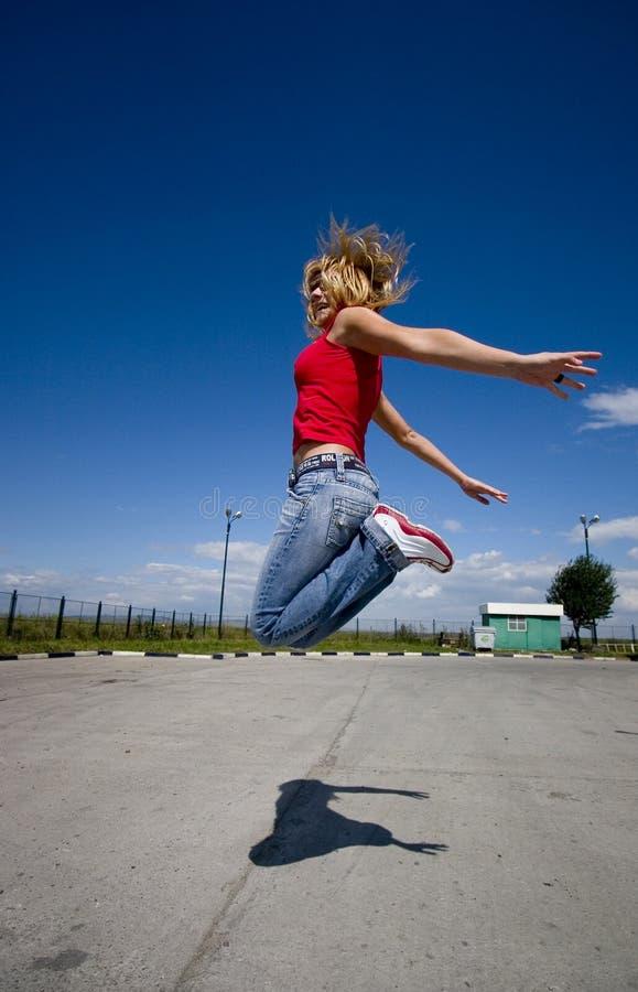 Download Jumping stock image. Image of pant, shirt, play, joyful - 238013