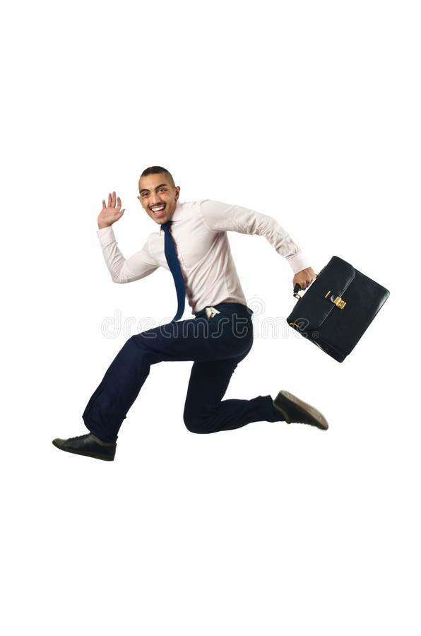 Download Jumping Businessman Stock Image - Image: 27901541