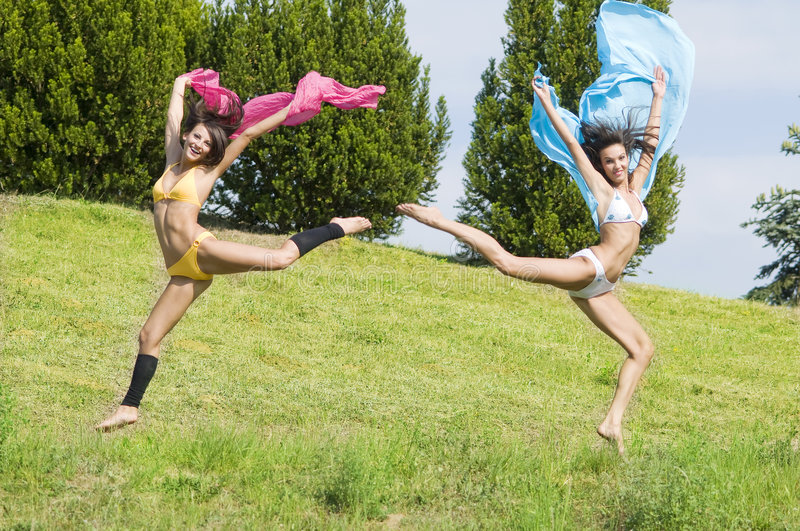 Download Jumping color stock image. Image of adult, active, energy - 5601621