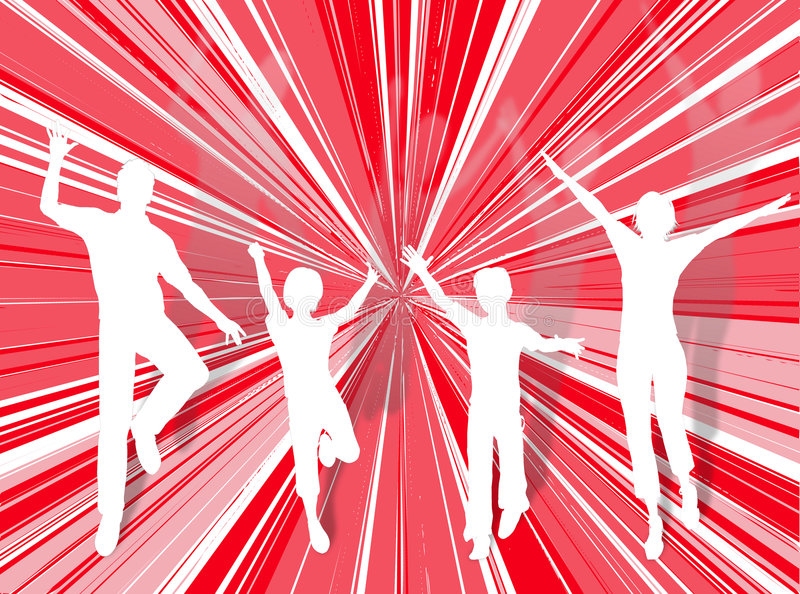 Download Jumping Family Royalty Free Stock Photo - Image: 3819515