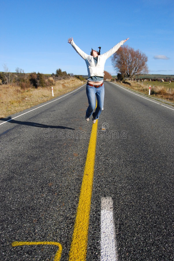 Download Jumping for Joy stock image. Image of hope, love, zealand - 7722247