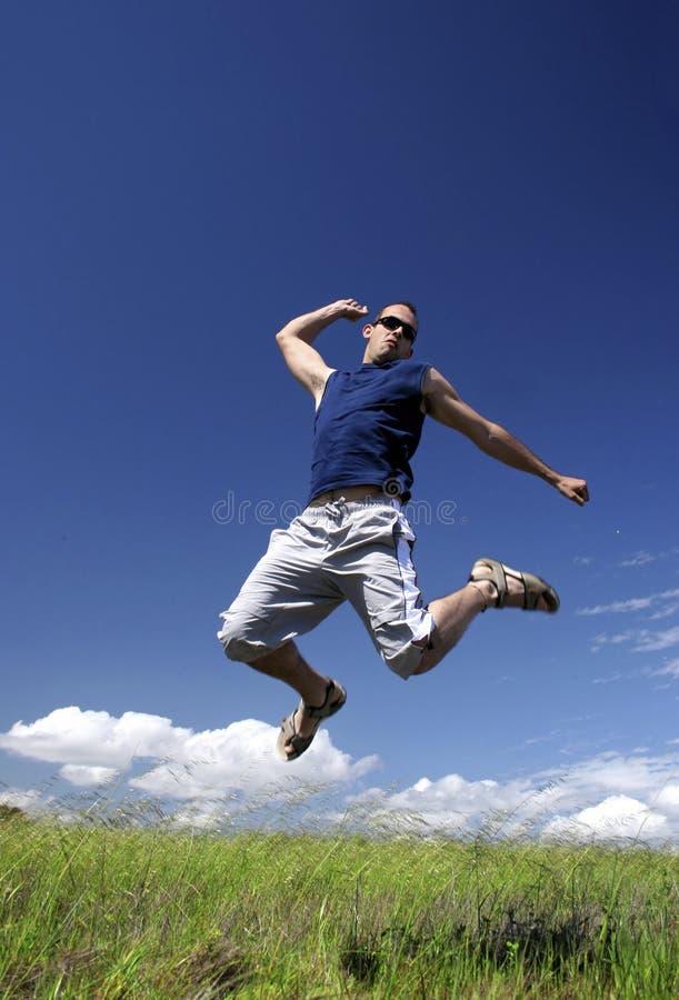 Download Jumping Man Royalty Free Stock Image - Image: 2581776