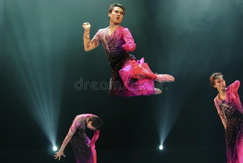 Download Jumping modern dancers editorial stock photo. Image of entertainment - 27414328