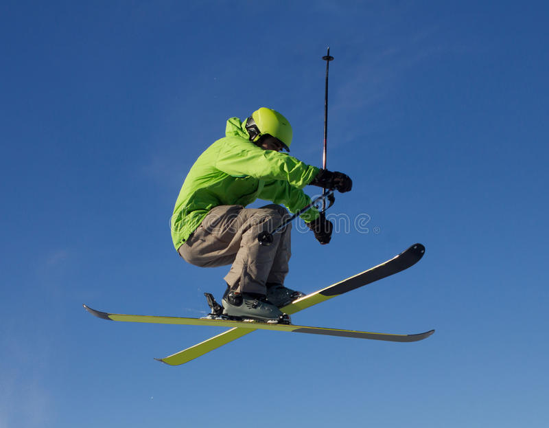 Download Jumping skier stock image. Image of season, competition - 37558525