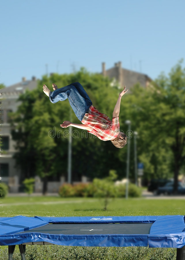 Download Jumps stock photo. Image of training, trampoline, weightlessness - 947582