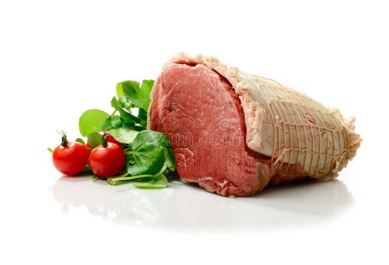 Junção da carne do Topside foto de stock