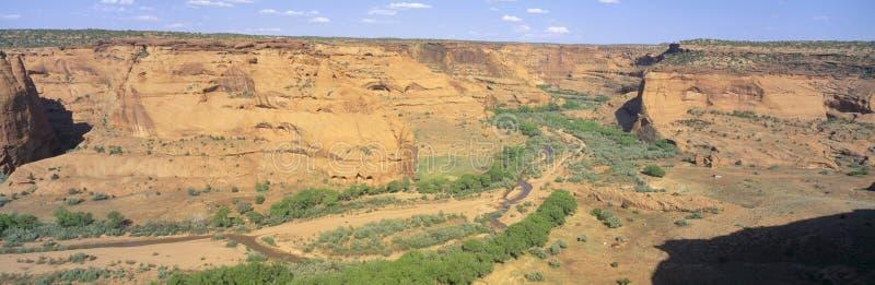 A junção negligencia, monumento nacional de Garganta de Chelly, o Arizona imagens de stock royalty free