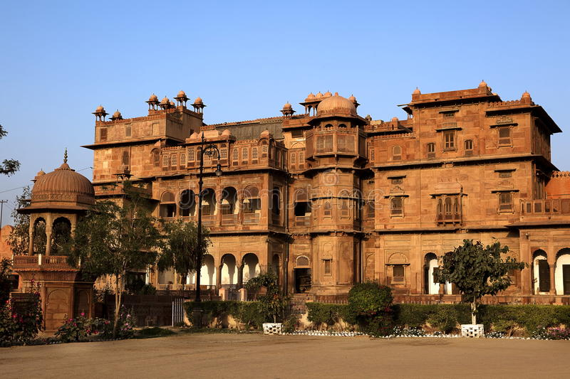 Junagarh Fort. In city of Bikaner rajasthan state in india royalty free stock images