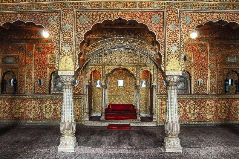 Junagarh-Fort bei Bikaner, Rajasthan in Nord-Indien lizenzfreie stockfotografie