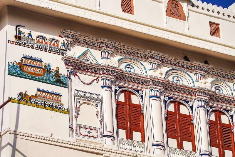Junagarh-Fort bei Bikaner, Rajasthan in Nord-Indien stockbild