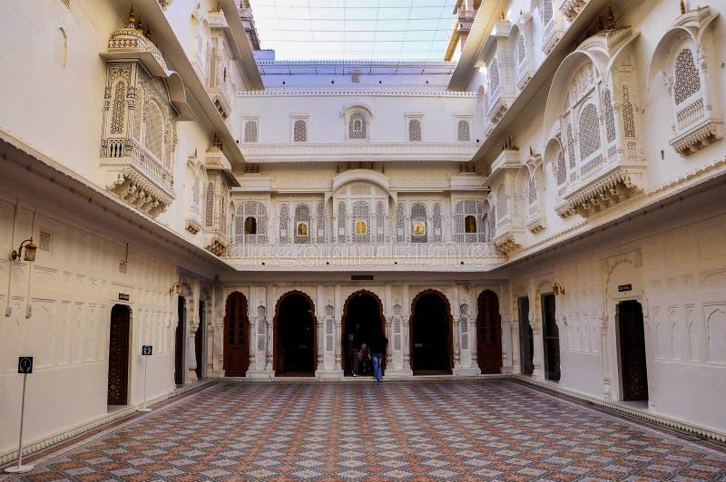 Junagarh fort przy Bikaner, Rajasthan w Północnym India zdjęcia stock