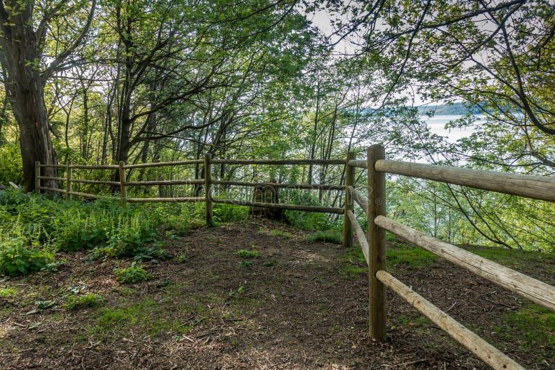 Junakowanie punktu Drewniany ogrodzenie 2 zdjęcia stock