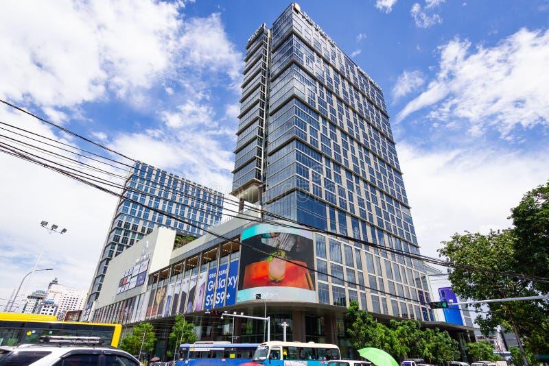 Junction City Yangon, Myanmar foto de stock royalty free