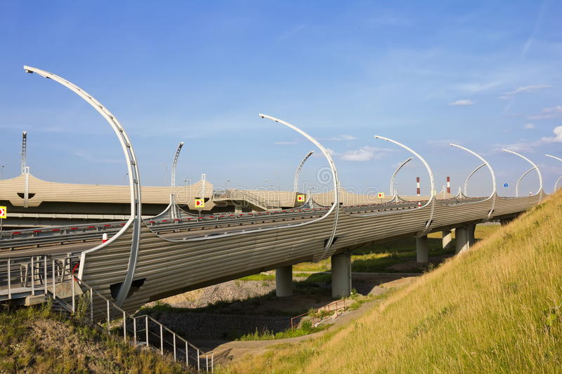 Download Junction of highways stock photo. Image of concrete, architecture - 26034120
