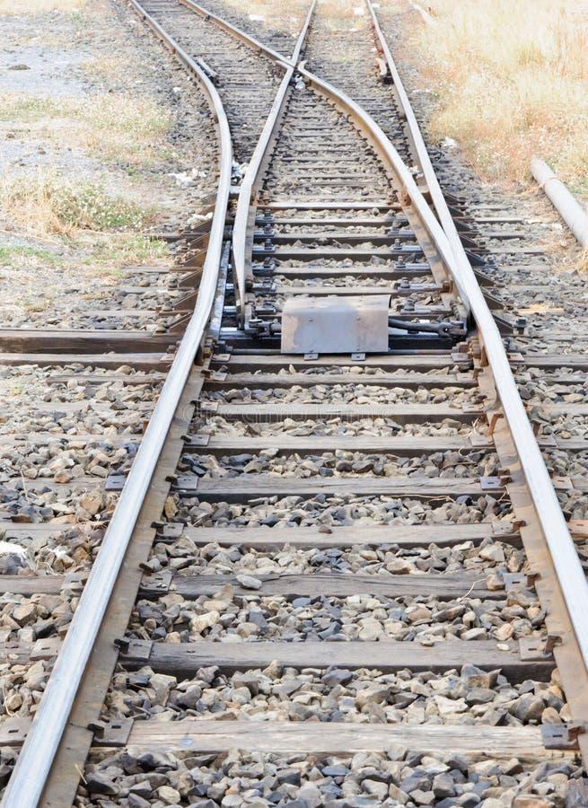 Junction line stock image