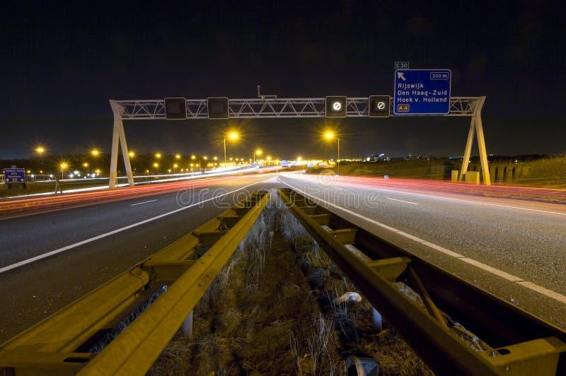 junction motorway στοκ εικόνες με δικαίωμα ελεύθερης χρήσης