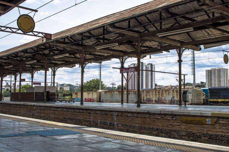 Jundiai dworzec obraz stock