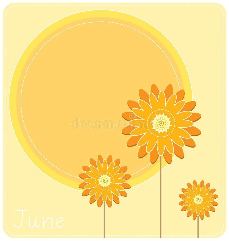 Download June Background stock vector. Image of pastel, vintage - 24756305