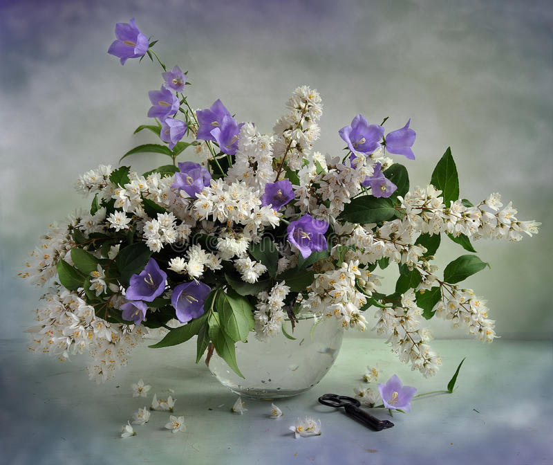 June bouquet royalty free stock images