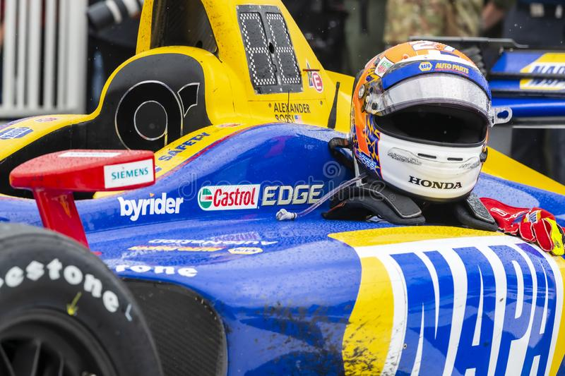 IndyCar: June 23 REV Group Grand Prix royalty free stock photography